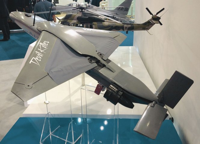 KAI suicidal unmanned aerial vehicle