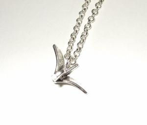 Crane necklace by flonightingale 4