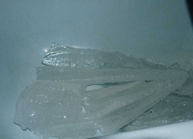 Лёд в ванной