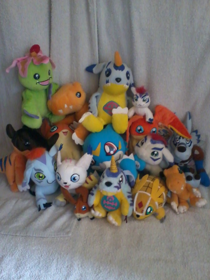 My plush collection! -...
