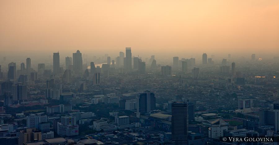 Закат в Бангкоке