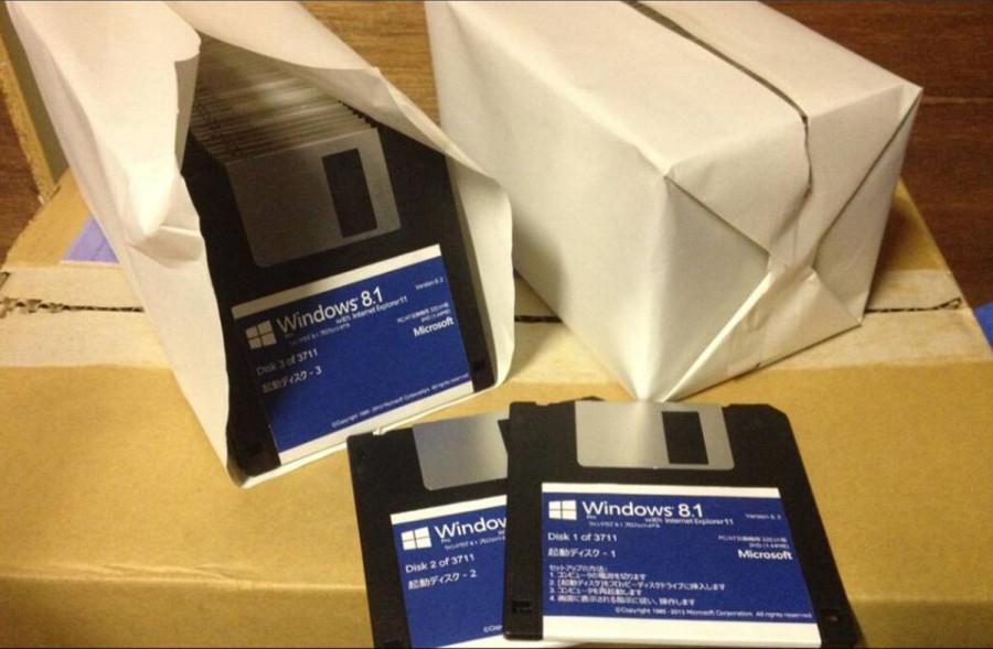 Windows 8.1 on a floppy