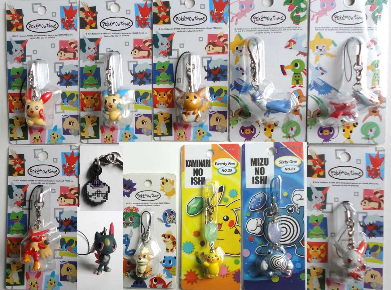 Pokemon Center Original pokémon time Chimchar Figure Strap From Japan
