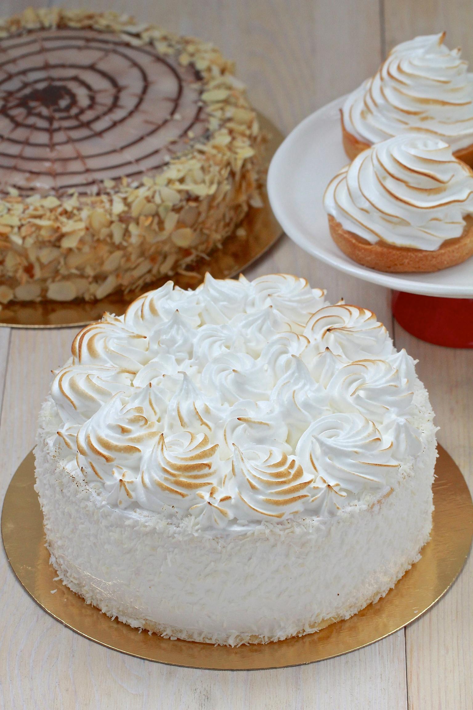 Торт со сливочным кремом рецепт пошагово