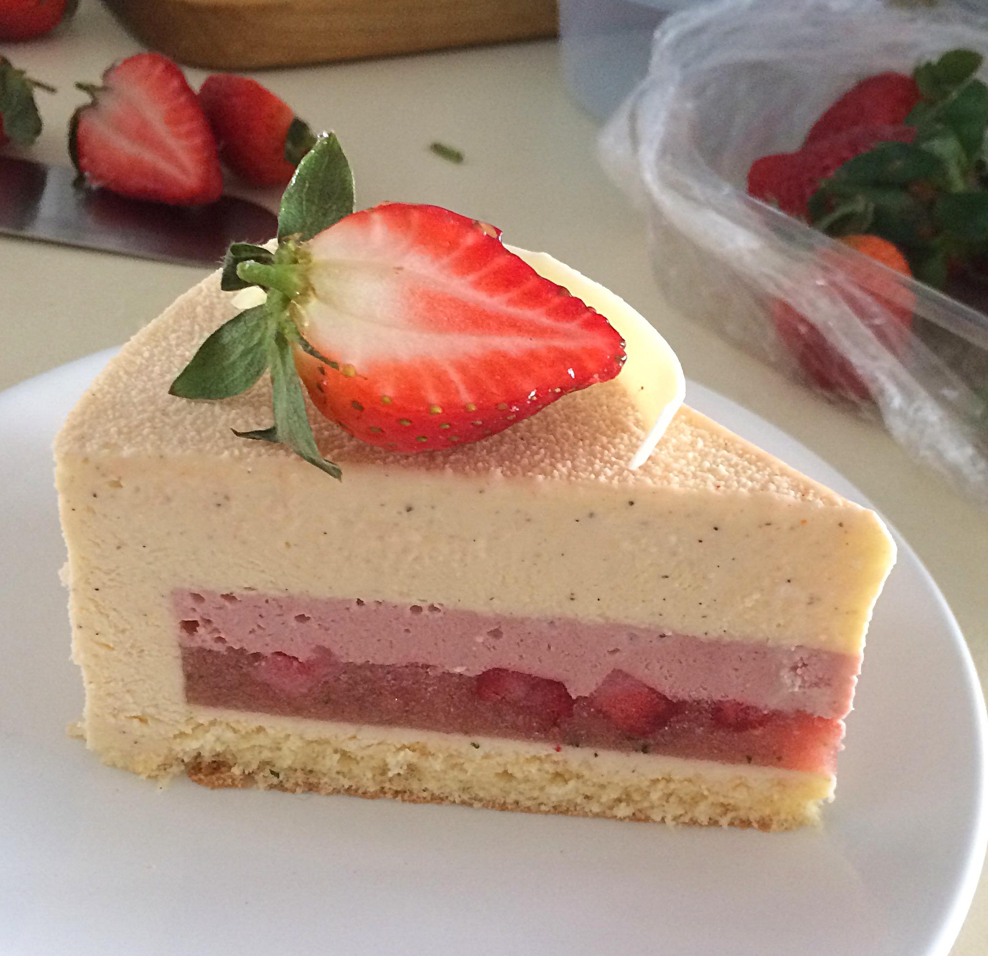 рецепт бисквита с клубничным желе