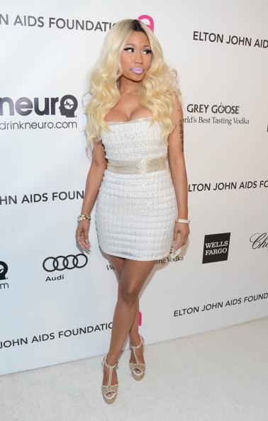 Nicki-Minaj-Elton-John-Oscars-Viewing-Party