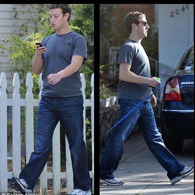 ноги Цукерберга