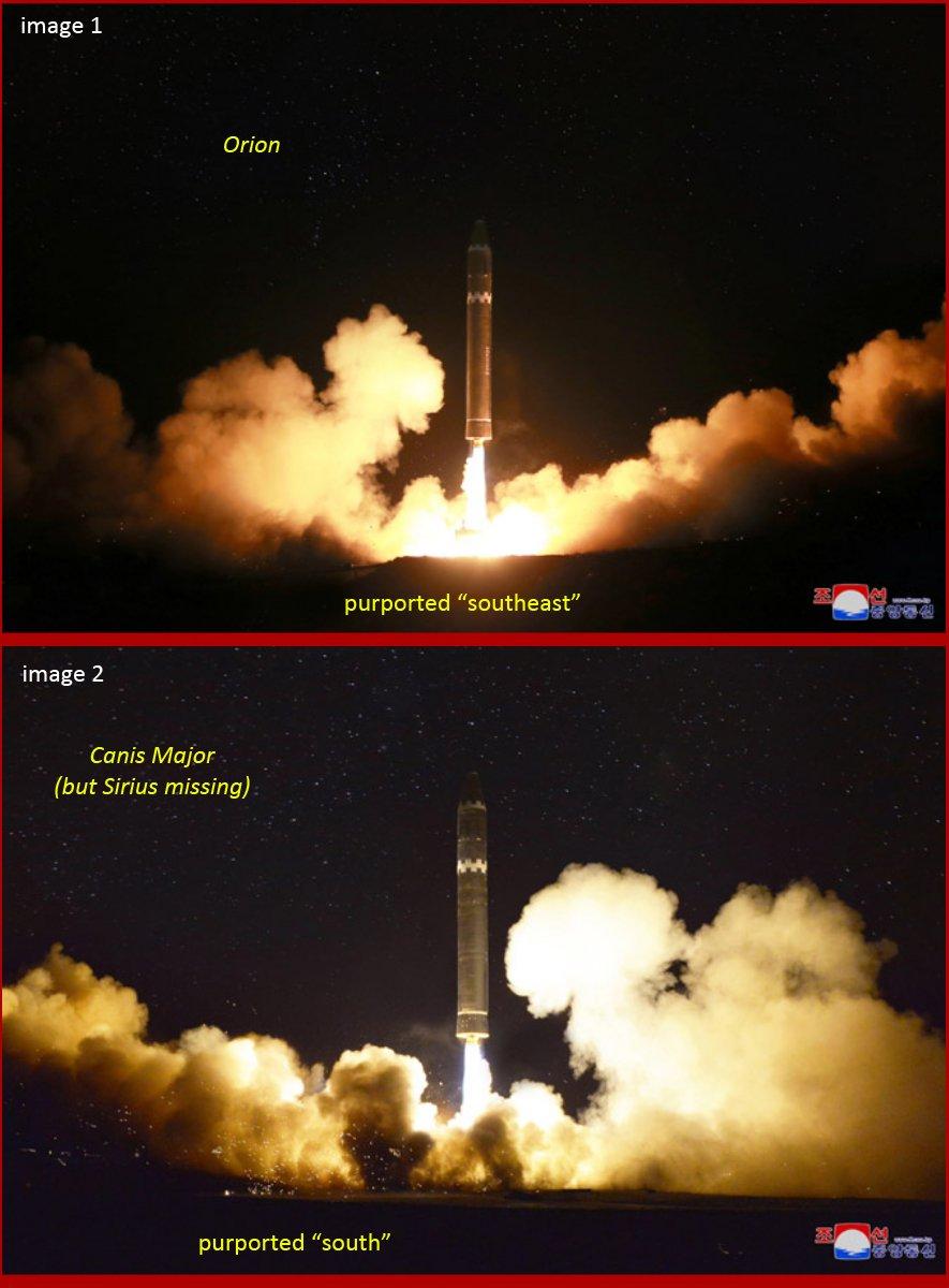 фото запуска ракеты Hwasong-15