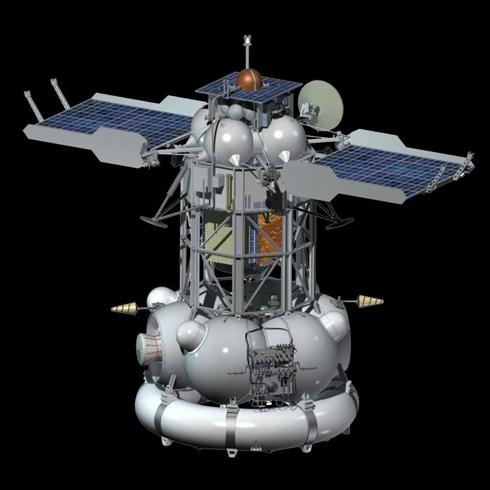 межпланетная станция фобос-грунт