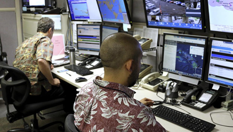 на гавайях испытали систему оповещения противоракетной обороны