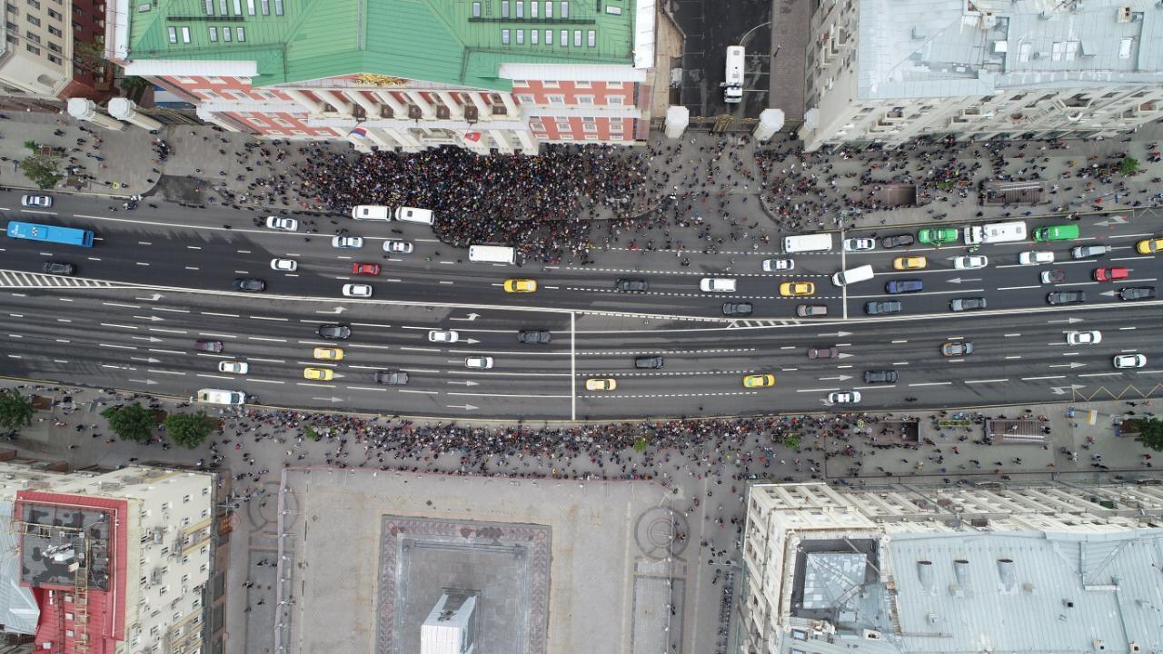 Протесты в Москве: Мы важнее картошки!