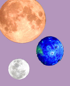 Light of the Moons Art