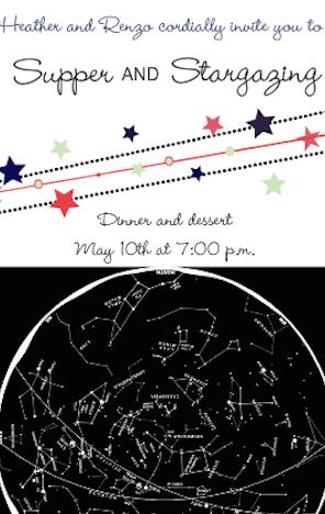 Stargazing Invite