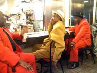 Waffle House pimps