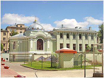 Храм свт. Николая. Московское подворье Спасо-Преображенского Валаамского монастыря