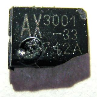 AX3001-33 Burned