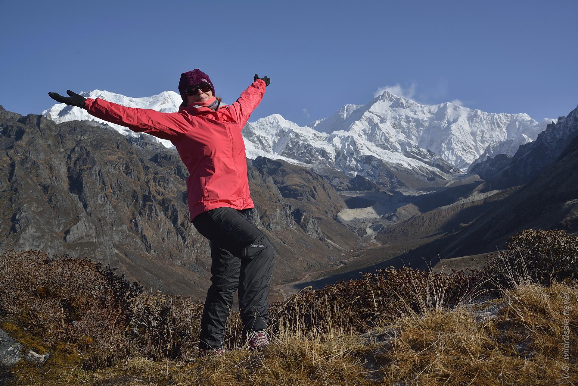 панорама Канченджанги в Сиккиме