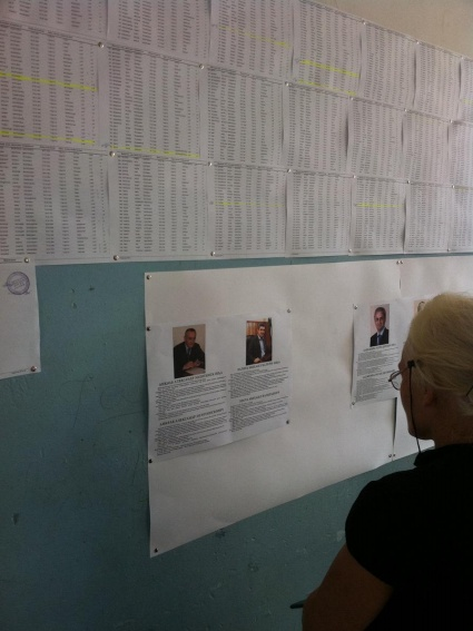 Abkhazian voters have the ability the review the resume of each candidates and the electoral list