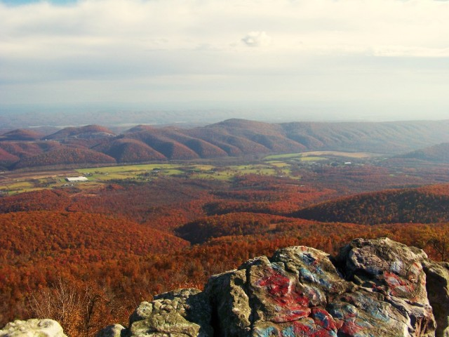 Dan's Rock in Autumn