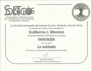 diploma del solsticio