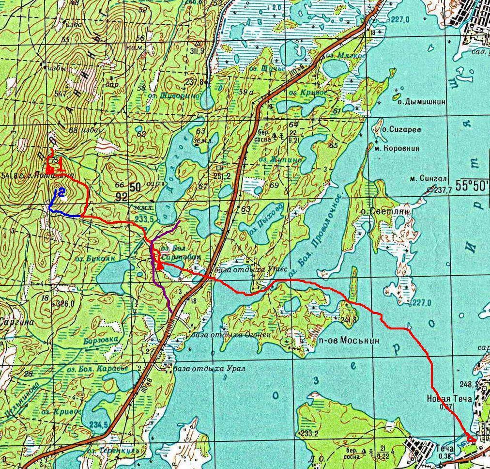 Карта 2а