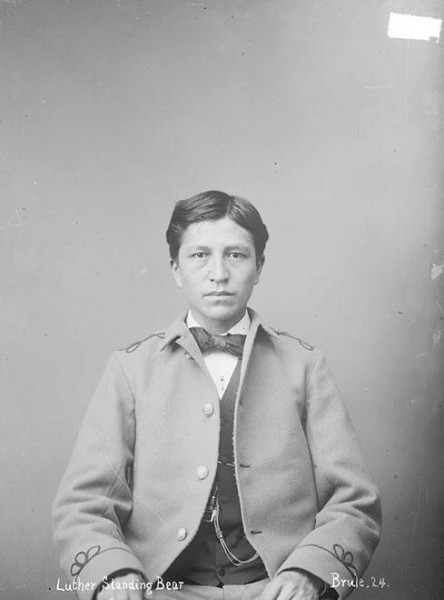 Luther Standing Bear 1894