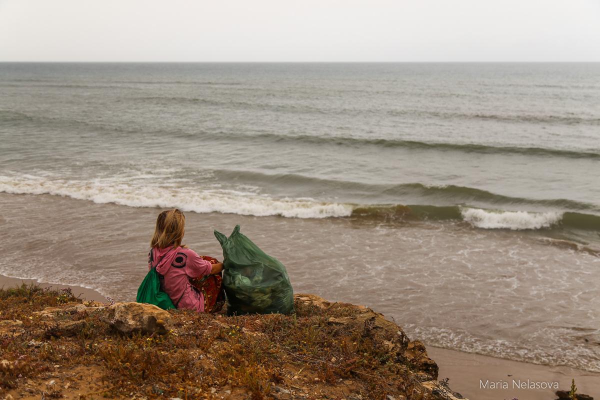Мусор, я и океан