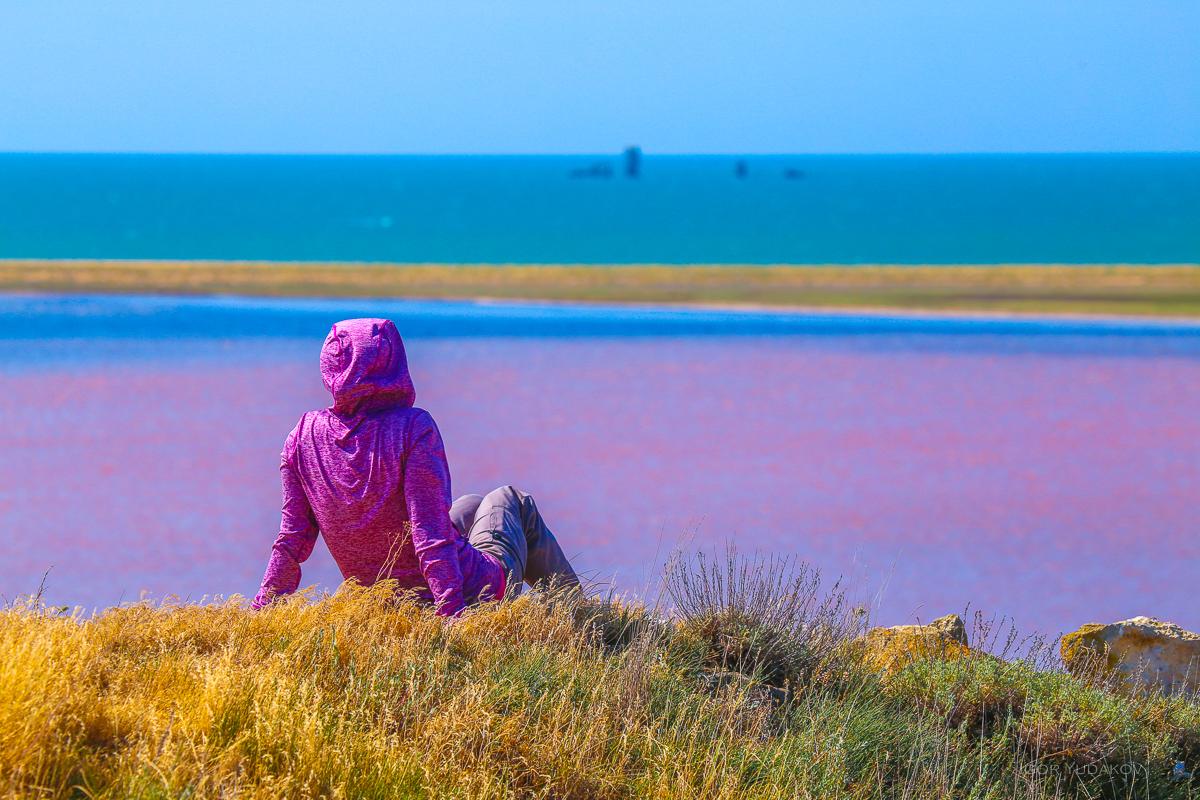 Опукский природный Заповедник и Кояшское озеро в Крыму, фотография из блога Марии Неласовой https://windtravel.livejournal.com/
