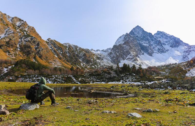 Бирюзовый огонь наших сердец Кавказ