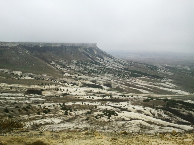 Белая скала и ее окрестности