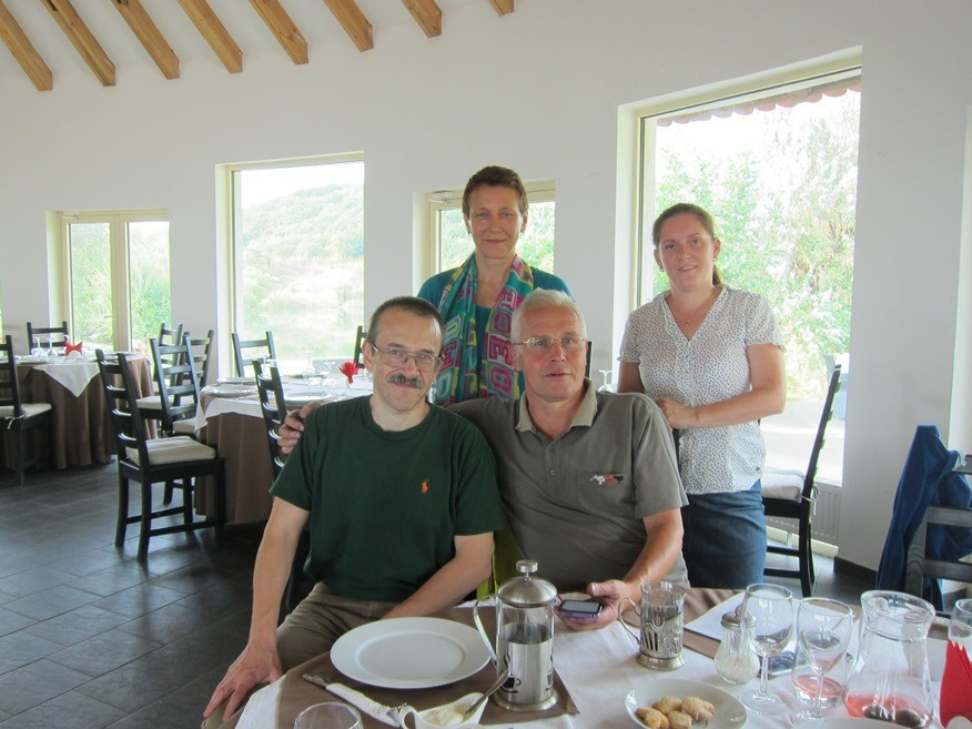 Villa Semigorie Restaurant  We and Oparin family