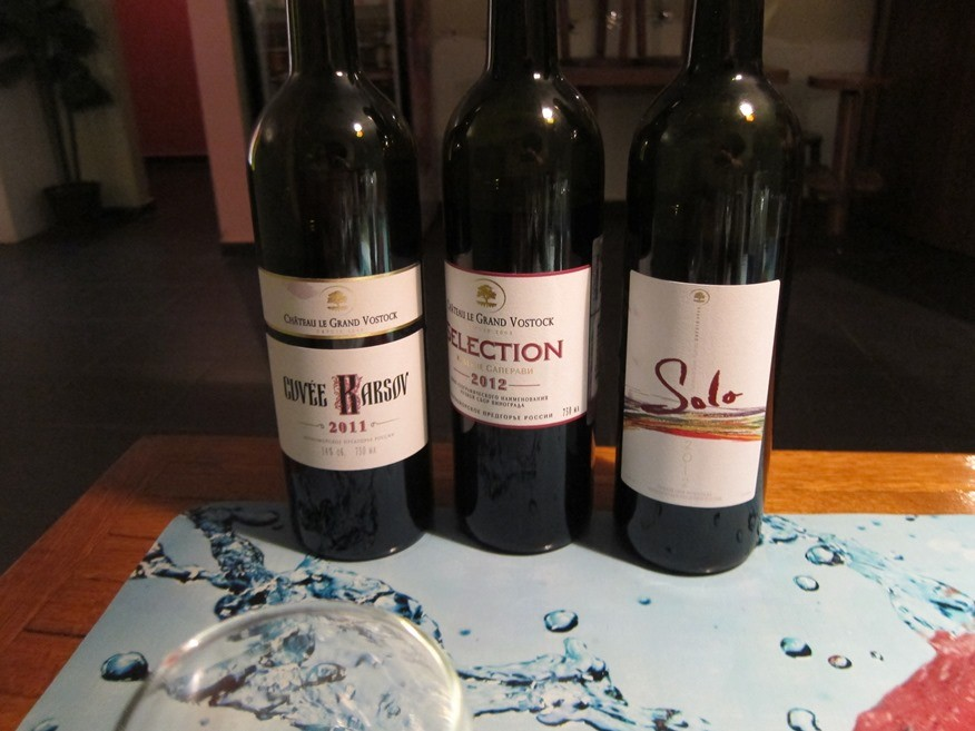 Chateau Le Grand Vostock degustation