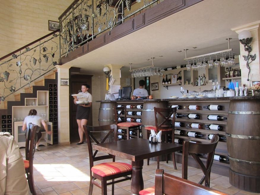 Fanagoria Restaurant cabernet