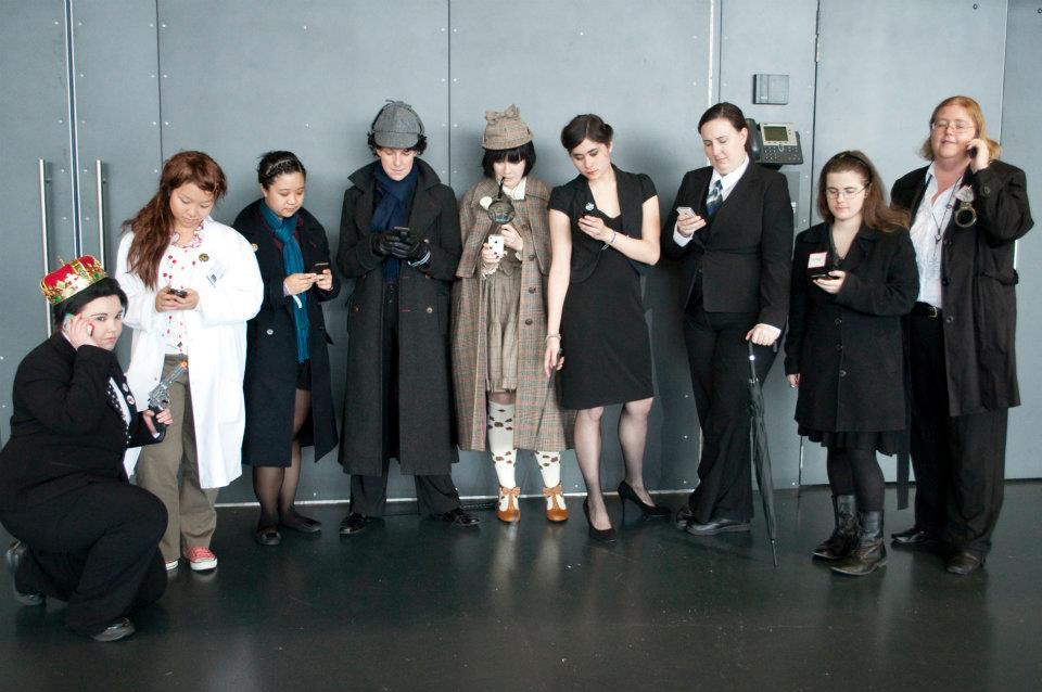 Sherlock cosplay tumblr