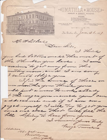 Umatilla-House-Letter-1891