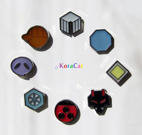 Johto Badges - KoraCat