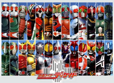 Kamen Sentai  My Top Fourteen Favorite Kamen Rider Series
