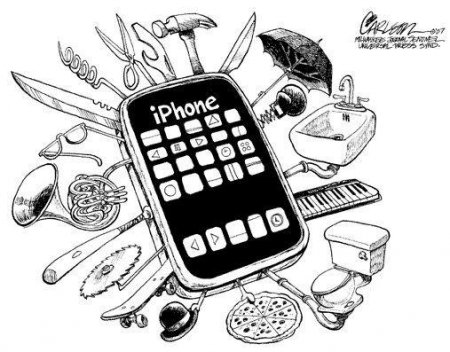 Картинки по запросу смартфон карикатура