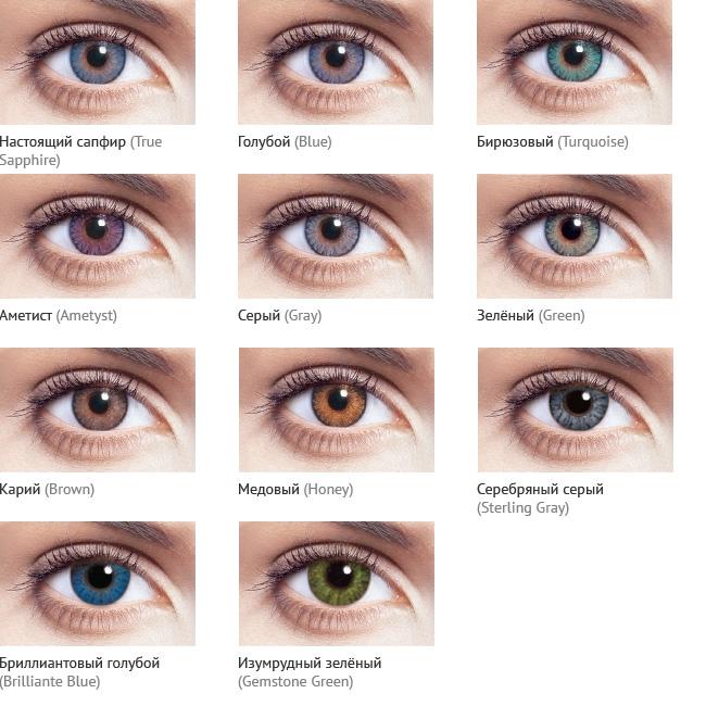 Цвет глаз фото