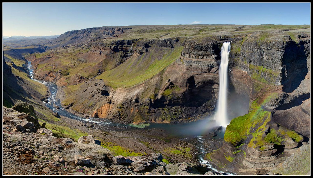 waterfall Seldzhaladsfoss_7+