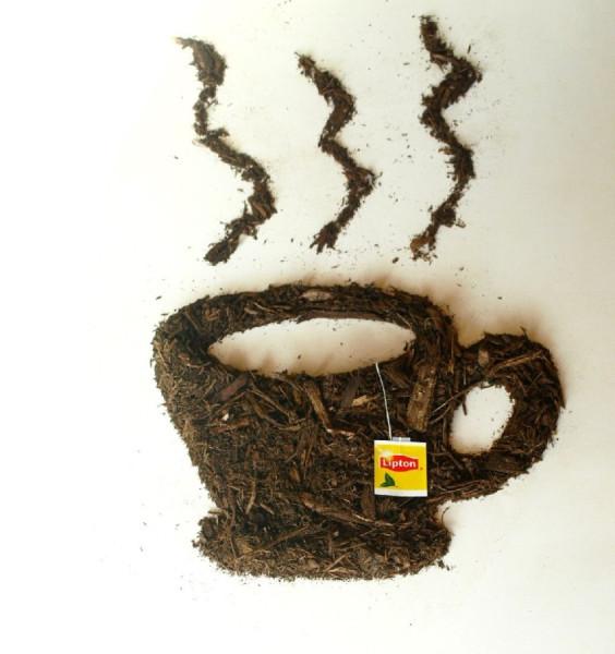 чашка из грязи