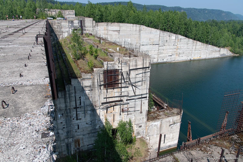 Крапивинская ГЭС гидроузла, объекта, плотины, стройку, области, строительство, несколько, место, Чтобы, плотине, человек, Сооружения, постепенно, похоже, Зеленогорский, стоит, здесь, будущего, предрекали, негативное