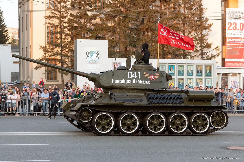 Репетиция парада в Новосибирске - 2019
