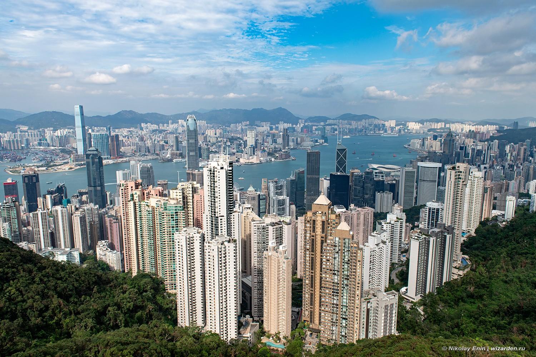 Гонконг. Пик Виктория