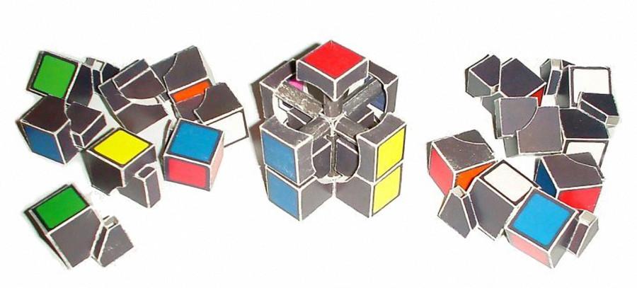 Как сделать кубик в кубике рубика