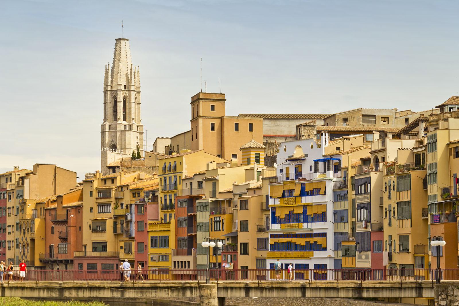 Girona, España, Oniar river