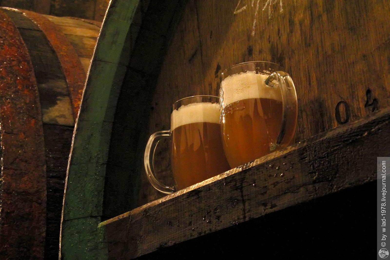 Prohlídka Pilsner Urquell, Pilsner Urquell, Ležácké sklepy