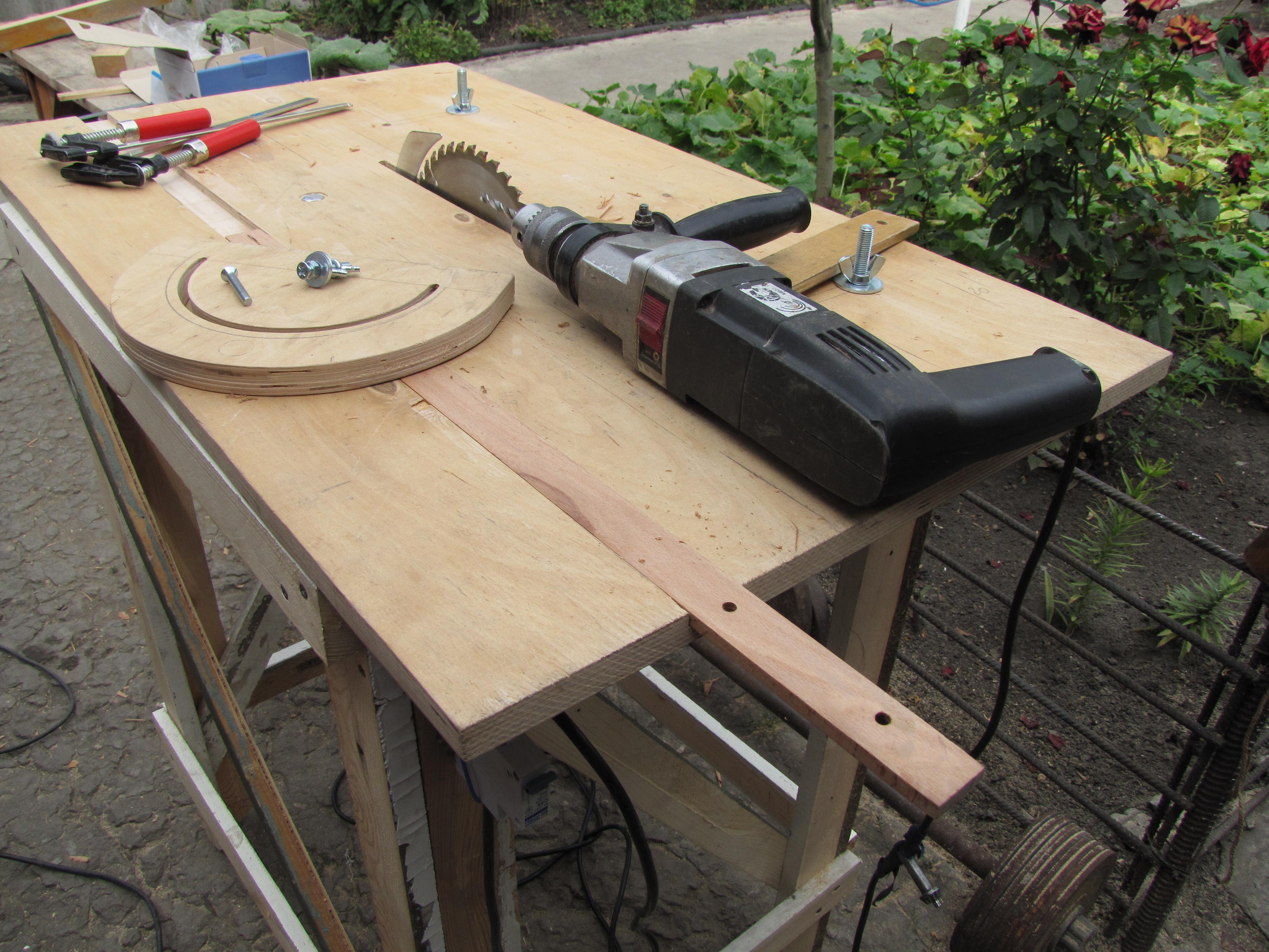 Стол сделан своими руками для ручной циркулярной пилы