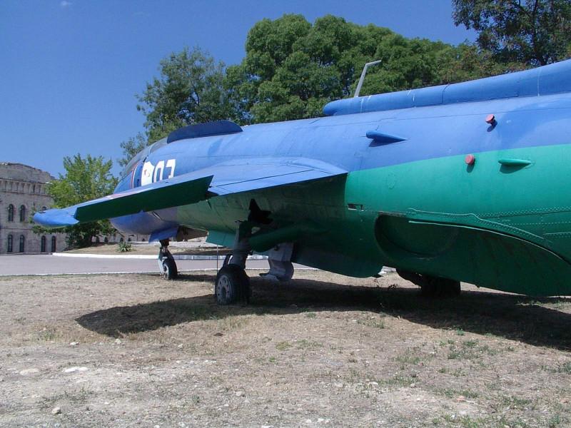 Як-38У в музее у Михайловской батареи