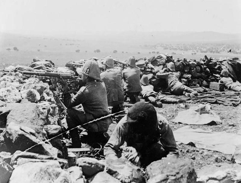 Британская пехота в англо-бурской войне
